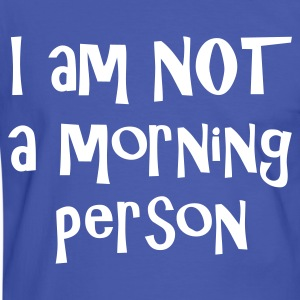 I am not a morning person - Baby T-shirt - Men's Ringer Shirt