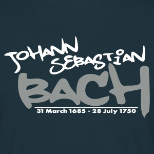 Bach Tag (18 colors available) - Mannen T-shirt