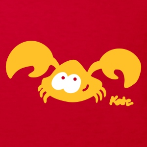 Red crab (c) Kids' Shirts - Kids' Organic T-shirt