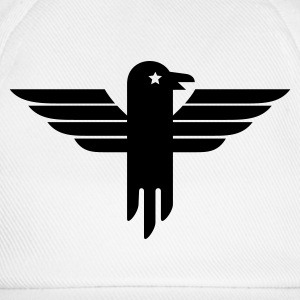 White/white Adler Symbol / eagle icon (1c) Caps & Hats - Baseball Cap