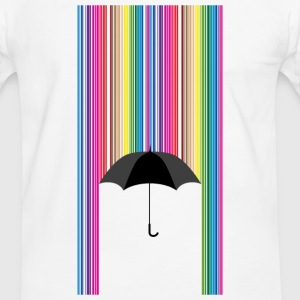 Colorful rain - Men's Ringer Shirt