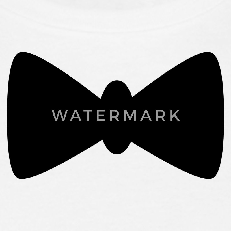 White Bow tie Men's T-Shirts - Men's T-Shirt