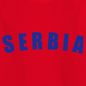 Rot SERBIA Srbija Serbien football Fußball fútbol Länder countries WM - eushirt.com Kinder T-Shirts - Teenager T-Shirt