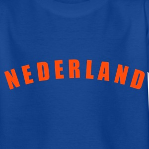 Royalblau NEDERLAND Netherlands Niederlande Oranje football Fußball Länder countries WM Voetbal - eushirt.com Kinder T-Shirts - Teenager T-Shirt