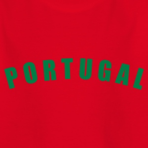 Rot PORTUGAL Länder countries futebol fútbol football Fußball WM Sports - eushirt.com Kinder T-Shirts - Teenager T-Shirt