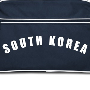 Navy/weiß SOUTH KOREA Südkorea 대한민국 大韓民國 fútbol calcio football Fußball Länder countries cup - eushirt.com Taschen - Sac Retro