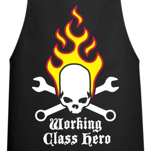 fire_skull_working_class_hero_a_3c Forklær - Kokkeforkle
