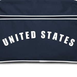 Navy/weiß UNITED STATES of America USA Amerika fútbol football Fußball Länder countries Sports - eushirt.com Taschen - Sac Retro