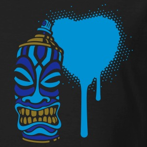 SPRAY I HEART TIKI PT.2 (N FR) - T-shirt bio Homme