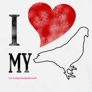 Design ~ I LOVE MY PIGEON (Mens Classic)