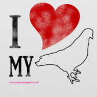 Design ~ I LOVE MY PIGEON Tote Bag