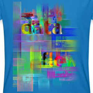 DATA FLOW | Männershirt organic - Männer Bio-T-Shirt