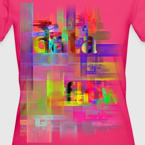 DATA FLOW | Frauenshirt organic - Frauen Bio-T-Shirt