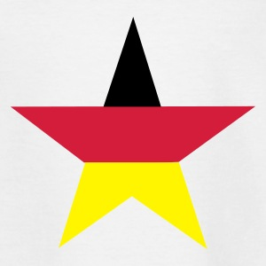 Vit germany_star Barn-T-shirts - T-shirt tonåring