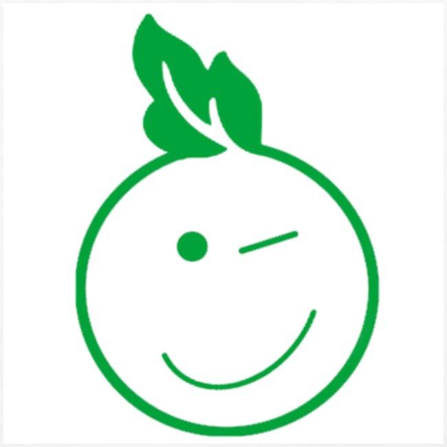 Eco Kid Bio-Shirt Men weiß mit Icon