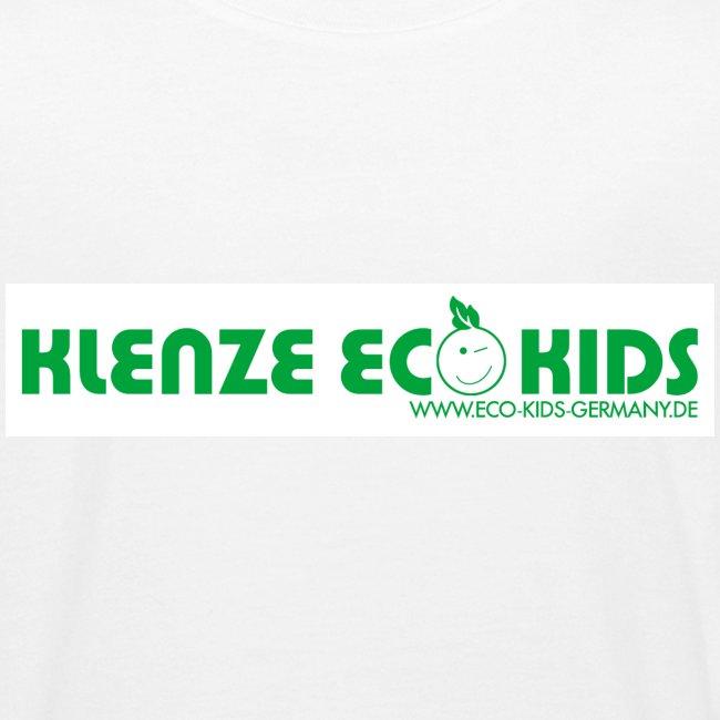 Klenze Eco Kids Bio-Shirt Kids weiß mit Logo