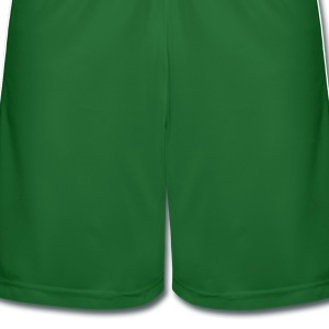 Cheers green beer shamrock  st.patrick's day Women's Contrast T-Shirt - Men's Football shorts