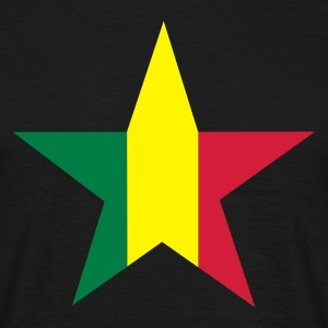 Rasta star - Men's T-Shirt