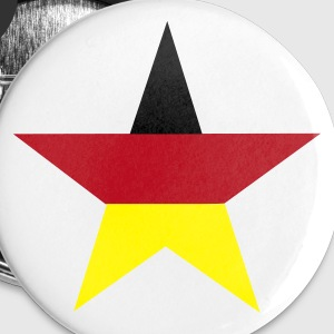 Germany star - Middels pin 32 mm