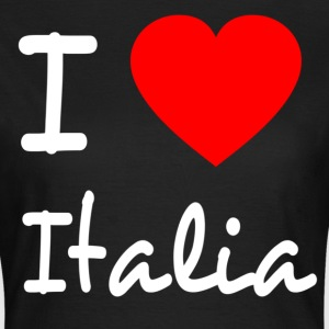 I LOVE ITALY T-shirts - Dame-T-shirt