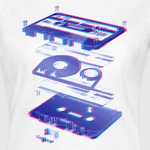 Kassette Funky - Tape - Audio - 80s - Frauen T-Shirt