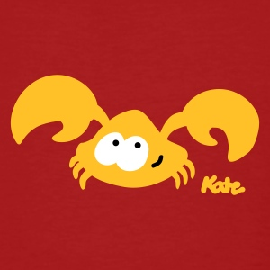 Dark red Baby Crab (2c) Men's T-Shirts - Men's Organic T-shirt