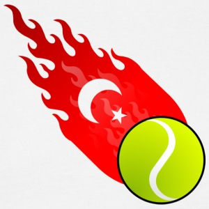 Fireball Tennis Türkiye - T-skjorte for menn