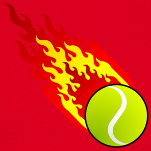 Fireball Tennis Spania - T-skjorte for menn