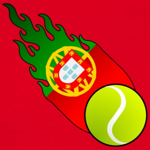 Fireball Tennis Portugal - Men's T-Shirt