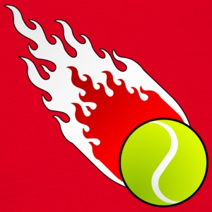 Fireball Tennis Polen - T-skjorte for menn