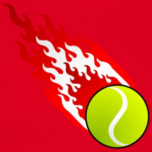 Fireball Tennis Østerrike - T-skjorte for menn