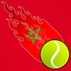 Fireball Tennis Marokko - T-skjorte for menn