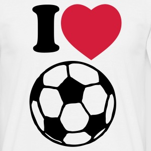 I love football - Männer T-Shirt