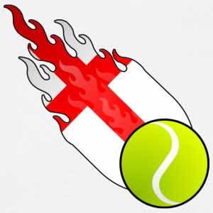 Fireball Tennis England - T-skjorte for menn