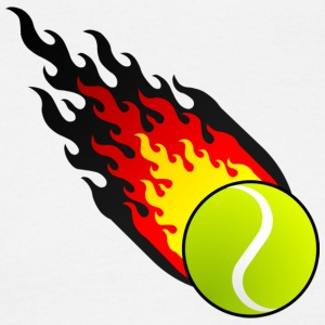 Fireball Tennis Tyskland - T-skjorte for menn