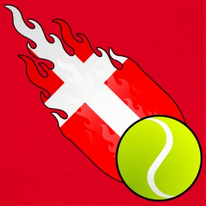 Tennis Fireball Danemark - T-shirt Homme