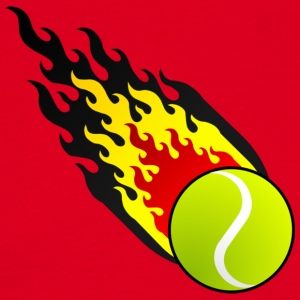 Fireball Tennis Belgium - Men's T-Shirt