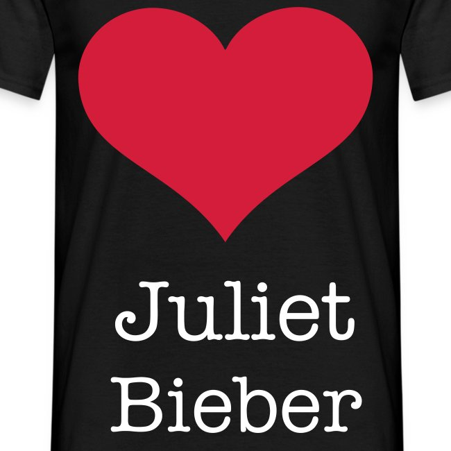 T-Shirt -  Juliet Bieber