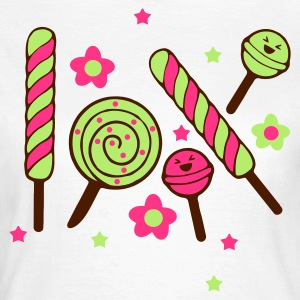 Weiß kawaii candy T-Shirts - Frauen T-Shirt