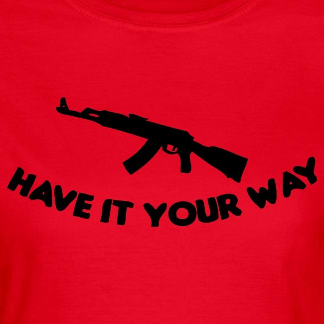 Your way ladies