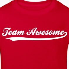 Red Team Awesome (1c) Kids' Shirts