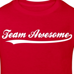 Red Team Awesome (1c) Kids' Shirts - Kids' Organic T-shirt