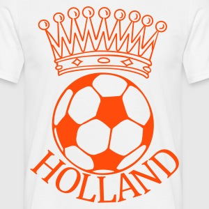Holland voetbal kroon T-shirts - Mannen T-shirt