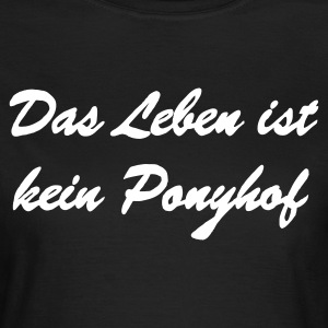 ponyhof_ohne_pony__final T-Shirts - Frauen T-Shirt