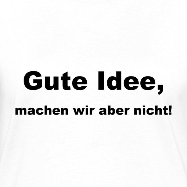 BDSU Alumna 'Gute Idee (T-Shirt navy)
