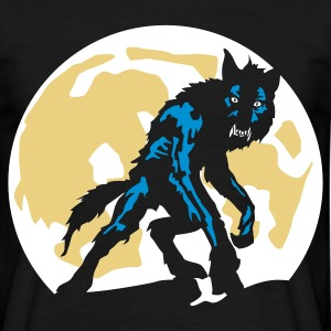 Black werwolf_a_3c Men's T-Shirts - Men's T-Shirt
