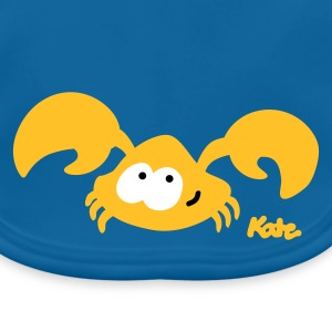 Black Baby Crab (2c) Accessories - Baby Organic Bib
