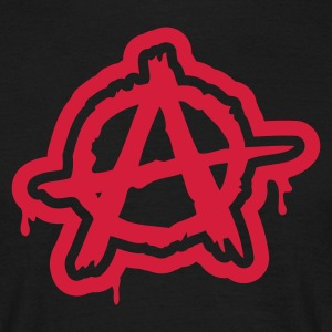 Anarchie / Anarchy A T-Shirts - Men's T-Shirt