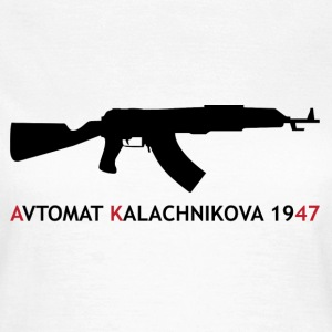 AK-47 - Kalashnikov / Weapon / Gun / Army T-Shirts - Frauen T-Shirt