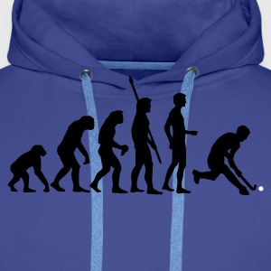 evolution_herren_hockey_2c Hoodies & Sweatshirts - Men's Premium Hoodie